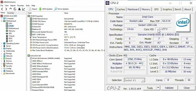 Intel-Core-i7-11700-Specifications